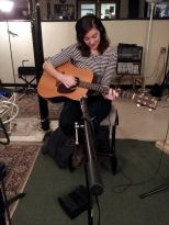 Emily Walsh - Guitar and vocals, in studio