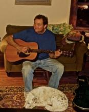 Jim at home