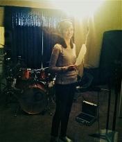 Grace in studio